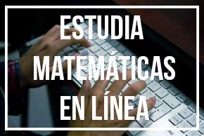 licenciatura en matematicas en linea sep unadm