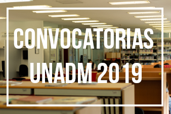convocatorias unadm 2019